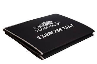 Килимок для фітнесу і йоги PowerPlay 4013 180х60х0.6 см Чорний PP4013Black, КОД: 1138981