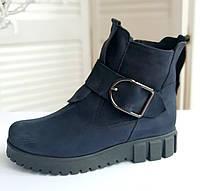 Женские ботинки от производителя, натуральный нубук