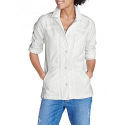 Куртка Eddie Bauer Womens Ripstop Jacket SNOW M Белый 0102SN, КОД: 1164757