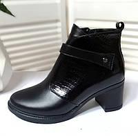 Женские кожаные ботинки обувь VISTANI, фото 1