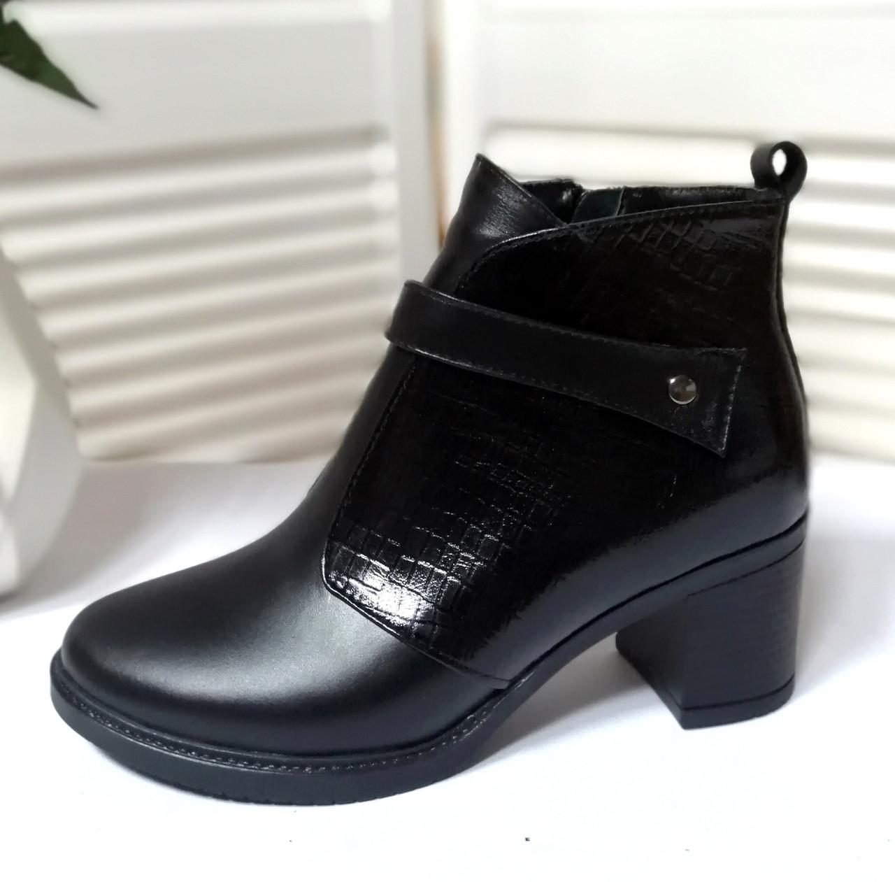 Женские кожаные ботинки обувь VISTANI