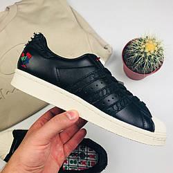 """Мужские кроссовки Adidas Originals Superstar CNY """"Year of the Rooster"""" (люкс копия)"""
