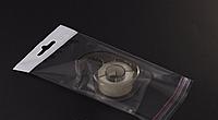 Пакет для упаковки прозрачный с отверстием,  6*10,5+3\25мк, 1000шт\пач