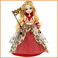 Кукла Ever After High Эппл Уайт (Apple White) из серии Thronecoming Школа Долго и Счастливо