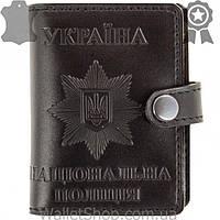 """Обложка кожаная книжка """"Национальная Полиция"""" / Національная Поліція"""