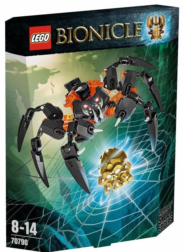 Lego Bionicle Повелитель пауков – черепов 70790