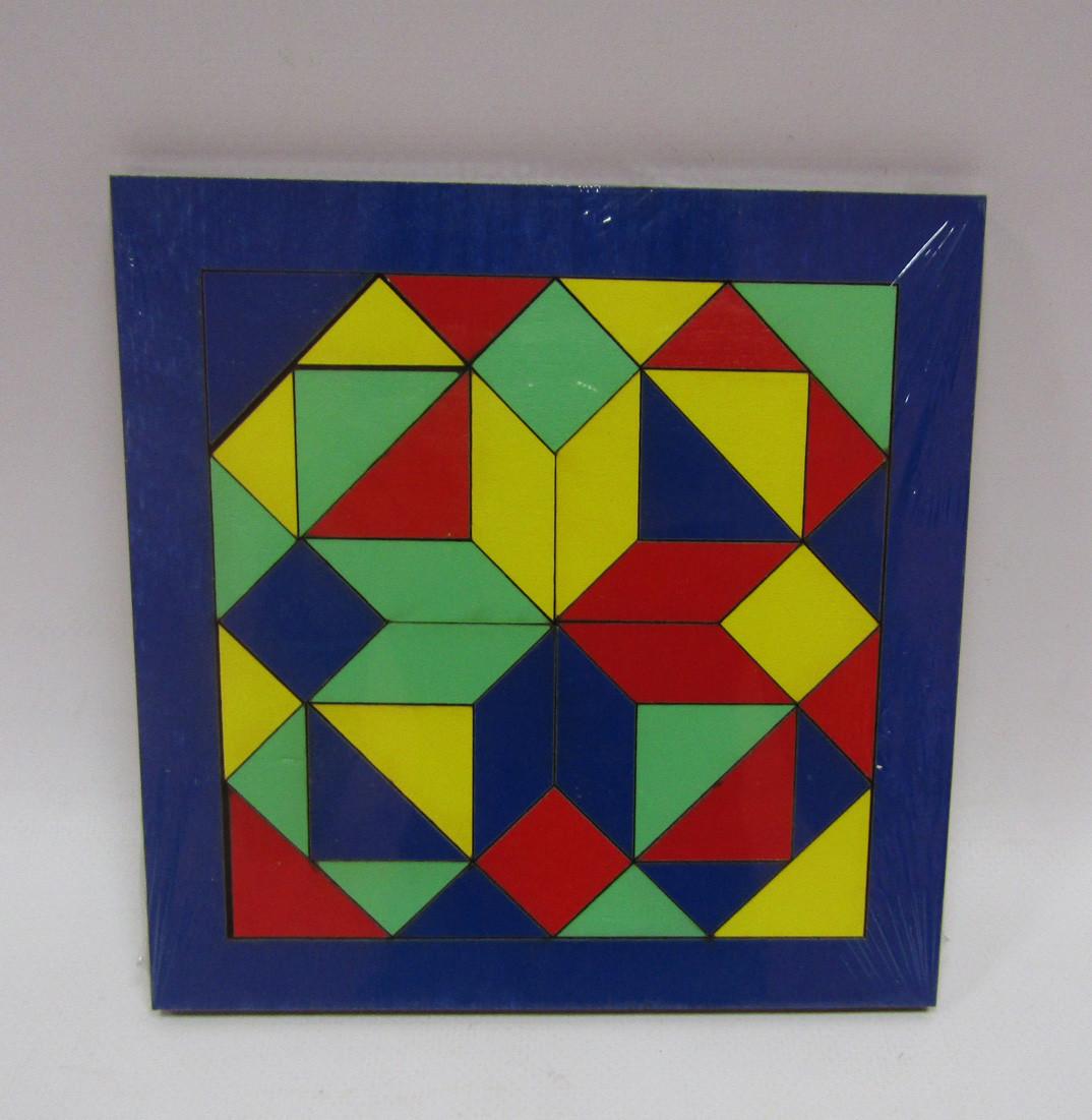 """Мозаика """"Танграм"""" 4 цвета,175*175мм //"""