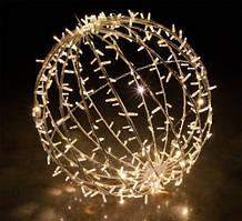 Светодиодная 3D фигура шар Glax 40 см