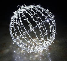 Светодиодная 3D фигура шар Glax 60 см