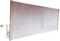 Прозрачная настенная инфракрасная обогревательная панель пленочный обогреватель 1,5*0,6 м