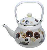Чайник эмалированный Edenberg EB-3353 -  2,5л (Белый)