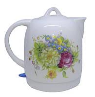 LSU-1132 Чайник керамический LIVSTAR 1,8 л (Цветы)