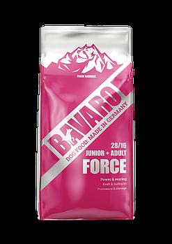 Bavaro Force 28/16 18 кг. Корм для щенков и активных собак