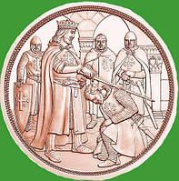 Австрия 10 евро 2019 г. «Рыцарство» — 2-я монета серии «С кольчугой и мечом» - приключение.