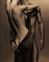 Картины по номерам 40×50 см. Мужчина и Женщина, фото 1