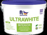 "Глубокоматовая краска для стен и потолка ТМ ""FT Professional"" ULTRAWHITE INTERIOR - 10,0 л."
