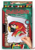 Набор для вышивания крестиком Попугай VK-02-04
