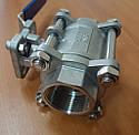 Трехсоставной шаровой кран ду 32(1 1/4''), фото 2