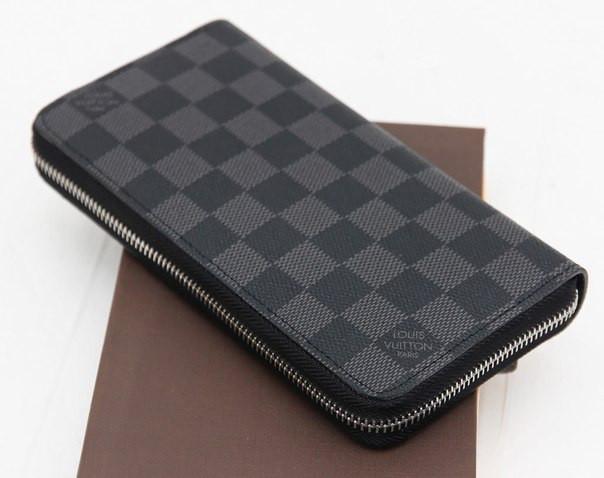 Мужской кошелек Louis Vuitton Zippy 19см - 5А