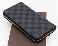 Мужской кошелек Louis Vuitton Zippy 19см - 5А , фото 1