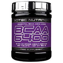 Аминокислоты Scitec Nutrition BCAA 6400 125 таблеток