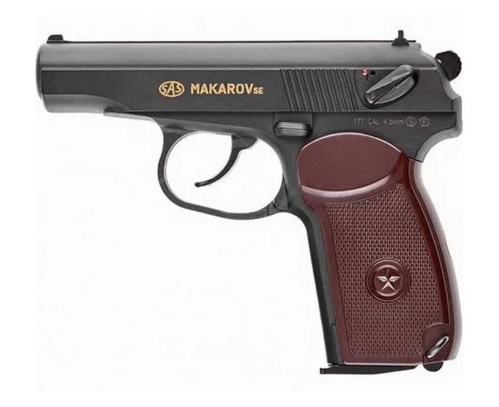 Пістолет пневматичний SAS Макаров SE ПМ (4,5 мм)