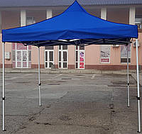 Шатер раздвижной, палатка, беседка, павильон, тент, 3х3(3*3), 24 кг, тент 800д синий