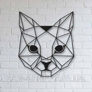 Металлический  декор на стену