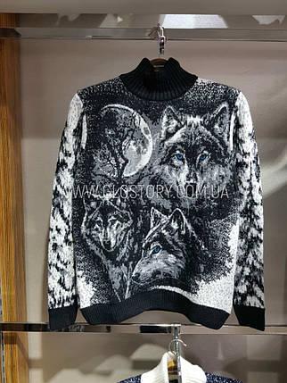 Мужской теплый свитер, Турция, фото 2
