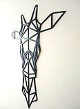 Металлический  декор на стену Жираф, фото 4