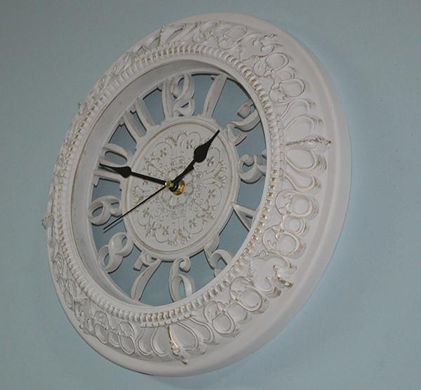 Настінні годинники білі з патиною (30 див)