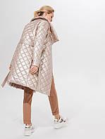 Стеганое пальто с поясом TM Mohito