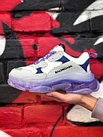 Кроссовки женские Balenciaga Triple S. Стильные женские кроссовки. , фото 1