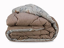 Одеяло холлофайбер зимнее сатин 140х205 полуторное, фото 3