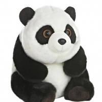 Мягкая игрушка Панда 26 см, aurora (03346)