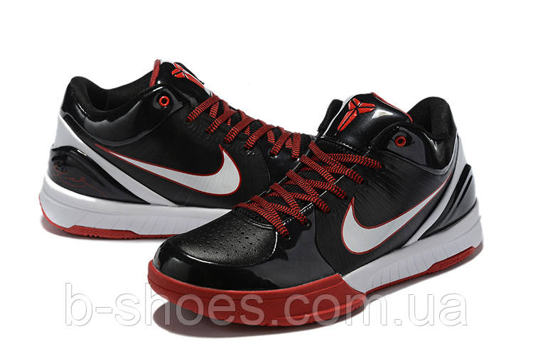 Мужские Баскетбольные кроссовки Nike Kobe 4 Pronto(Black/white)