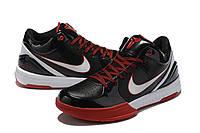 Мужские Баскетбольные кроссовки Nike Kobe 4 Pronto(Black/white), фото 1