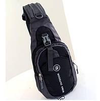 Мужской рюкзак на одно плечо. Размер 35-16-9 см (СР-3004)