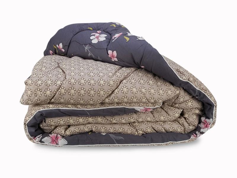 Одеяло холлофайбер зимнее сатин 200х220 евро