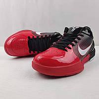 Мужские Баскетбольные кроссовки Nike Kobe 4 Pronto(Black/red), фото 1