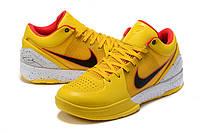 Мужские Баскетбольные кроссовки Nike Kobe 4 Pronto(Yellow), фото 1