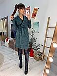 Женское платье на запах с кружевом (в расцветках), фото 3