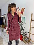 Женское платье на запах с кружевом (в расцветках), фото 8