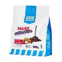Високобілковий гейнер Mass Attacker 1 кг шоколадне морозиво