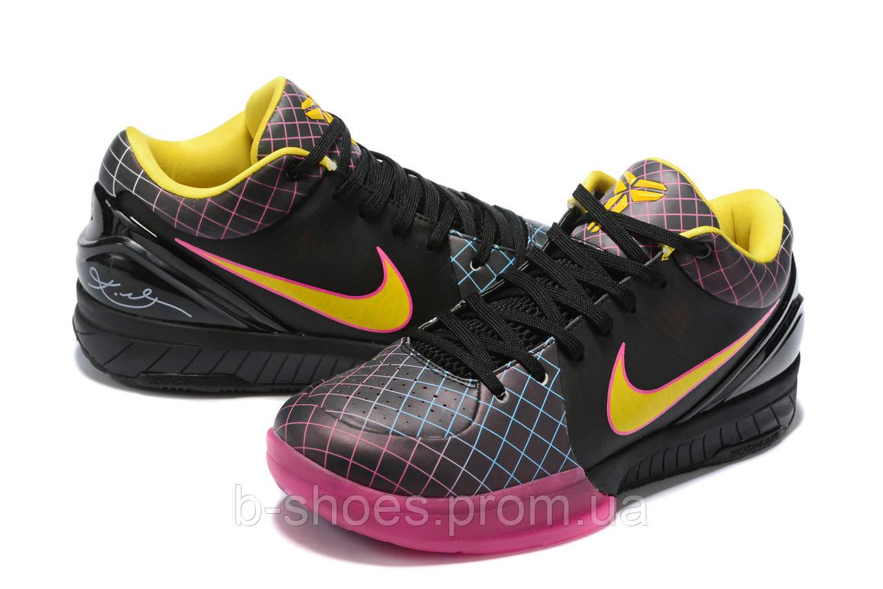 Мужские Баскетбольные кроссовки Nike Kobe 4 Pronto(Black/pink)