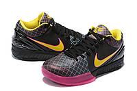 Мужские Баскетбольные кроссовки Nike Kobe 4 Pronto(Black/pink), фото 1
