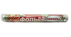 Фольга пищевая алюминиевая Appetito, длинна — 10 м, ширина — 30 см