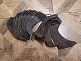 Ножи для почвофрезы R175 / 180N / 190N / 195NM ( 9 правый + 9 левый) - 18шт( комплект) мотоблоков, фото 8