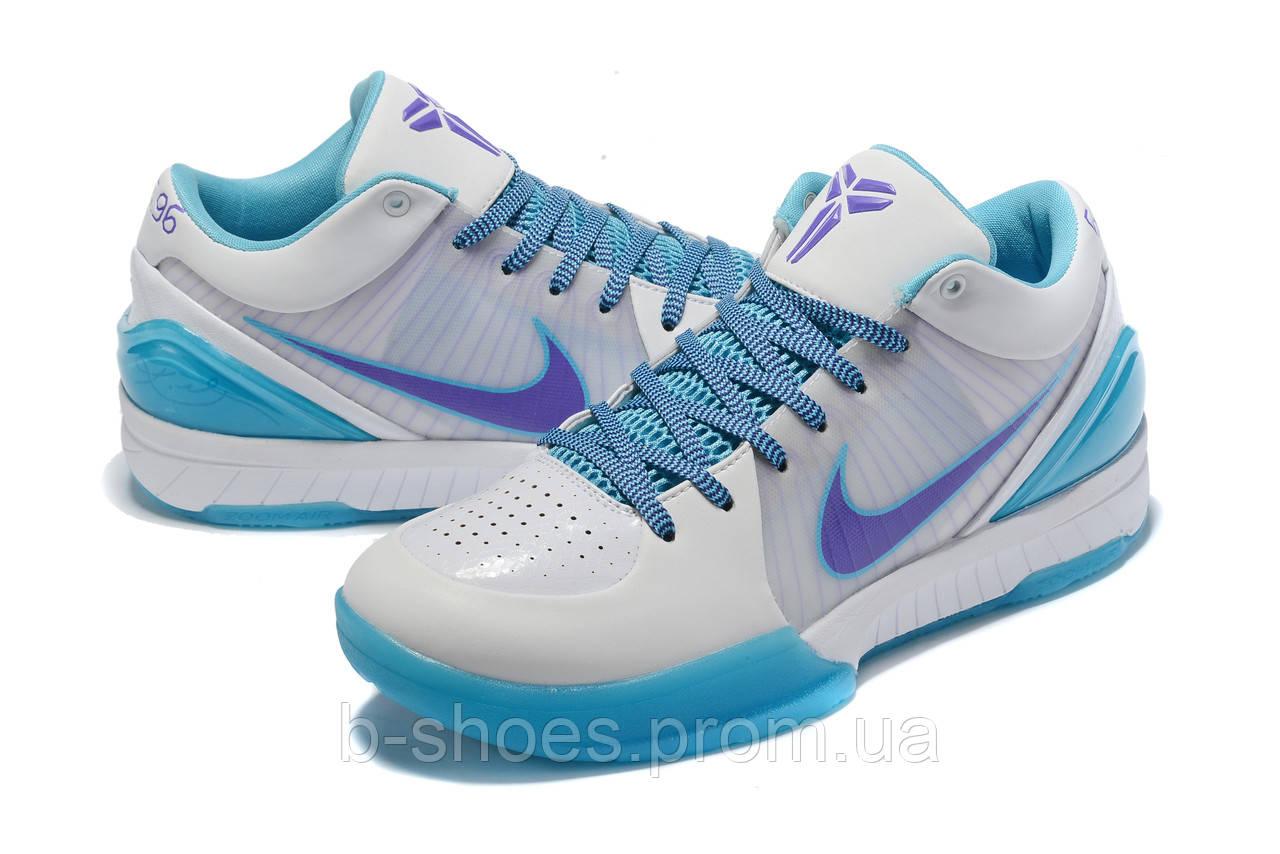 Мужские Баскетбольные кроссовки Nike Kobe 4 Pronto(White)