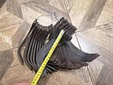 Ножи для почвофрезы R175 / 180N / 190N / 195NM ( 9 правый + 9 левый) - 18шт( комплект) мотоблоков, фото 7